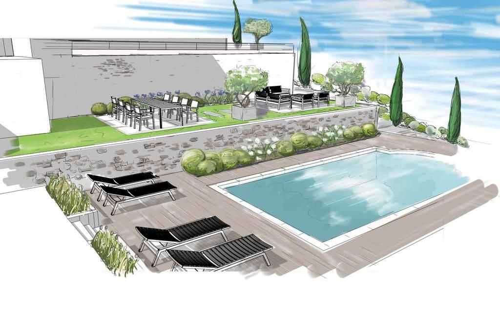 piscine coque polyester et bton pacte piscines