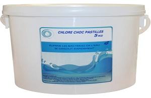 chlore choc pastilles boutique pacte piscines. Black Bedroom Furniture Sets. Home Design Ideas